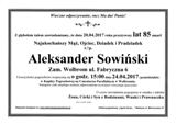 Sowiński Aleksander