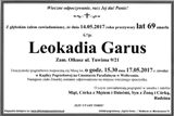 Garus Leokadia
