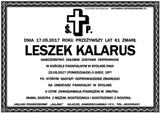 Kalarus Leszek