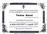 Karoń Teresa