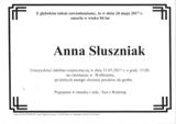 Słuszniak Anna