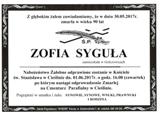 Syguła Zofia