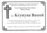 Baszeń Krystyna