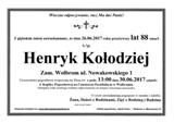 Kołodziej Henryk