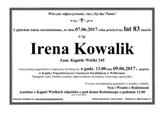 Kowalik Irena