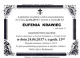 Krawiec Eufenia