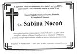 Nocoń Sabina