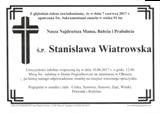 Wiatrowska Stanisława