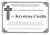 Cieślik Krystyna