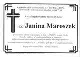 Maroszek Janina