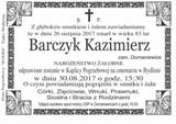 Barczyk Kazimierz