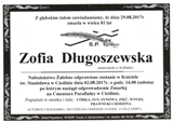 Długoszewska Zofia