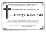 Kaleciński Henryk