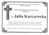 Karczewska Julia