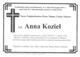 Kozieł Anna