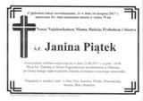 Piątek Janina