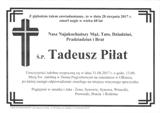 Piłat Tadeusz