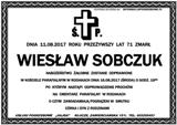 Sobczuk Wiesław
