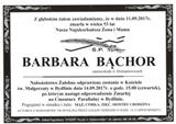 Bąchor Barbara