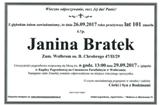 Bratek Janina