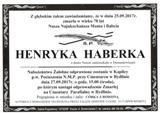 Haberka Henryka