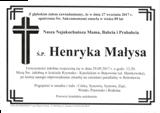 Małysa Henryka
