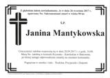 Mantykowska Janina