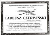Czerwiński Tadeusz