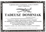 Dominiak Tadeusz