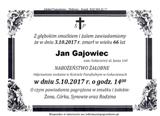 Gajowiec Jan