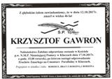 Gawron Krzysztof