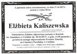 Kaliszewska Elżbieta