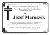 Maroszek Józef