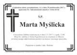 Myślicka Marta