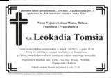 Tomsia Leokadia