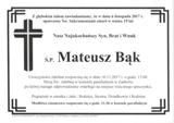 Bąk Mateusz