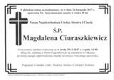 Ciuraszkiewicz Magdalena