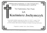 Jochymczyk Kazimierz