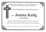 Kulig Janina