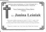 Leśniak Janina