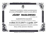Masłowski Józef