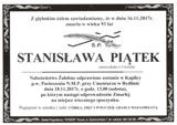 Piątek Stanisława