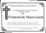 Skowronek Franciszek