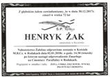 Żak Henryk