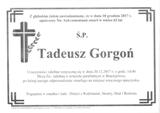 Gorgoń Tadeusz