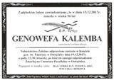 Kalemba Genowefa