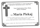 Piekaj Maria