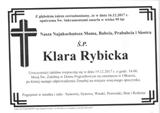 Rybicka Klara