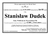 Dudek Stanisław