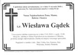 Gądek Wiesława